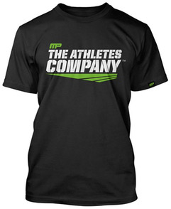 Mens Rashguard SS Athletes Company MUSCLEPHARM