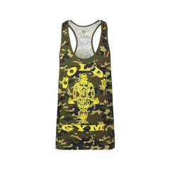 Stringer Joe Camo Gold's Gym