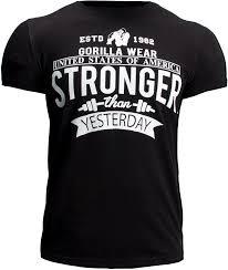T-Shirt Hobbs noir Gorilla Wear