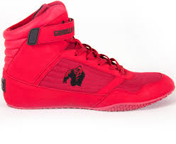 HIGH TOPS Red Gorilla Wear