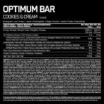 Protein Bar Optimum Cookies Cream