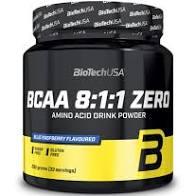 BCAA 8:1:1 Zéro – Cola 250g – Biotech USA