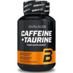 Caffeine + Taurine – 60 Capsules – Biotech USA
